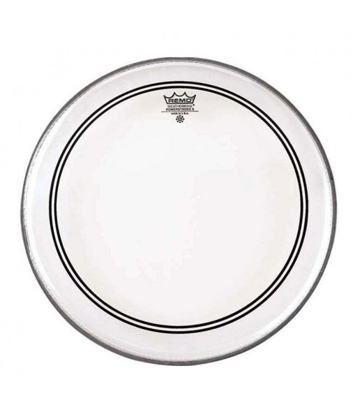 "REMO 22"" Powerstroke 3, Clear Falam incl P3-1322-C2"