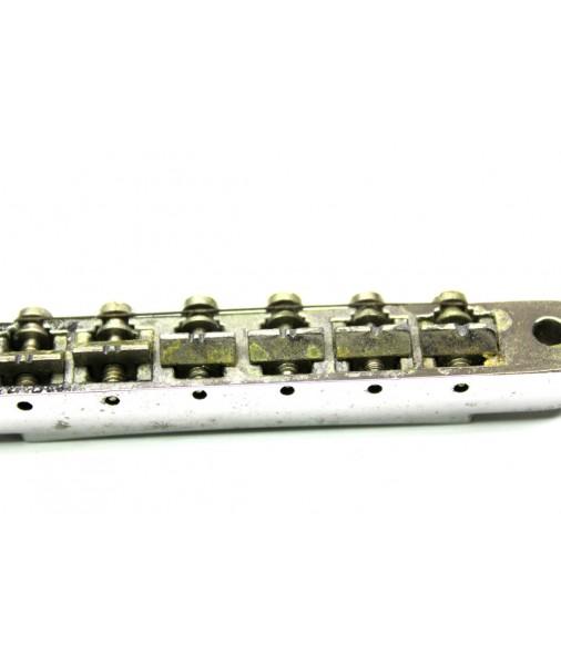 1970s Gibson Tune-o-matic ABR-1 Bridge -- Patent 2.740.313