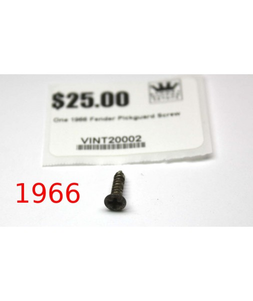 1966 Fender Pickguard screw VINT20002